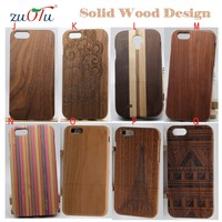 2016 new style wooden mobile phone cover case for iphone