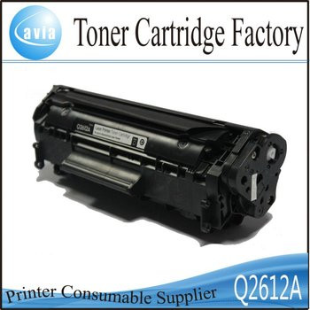 China premium toners and cartridges 2612A FX-9 FX-10 for hp canon printers