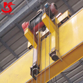 electric single girder low headroom overhead crane