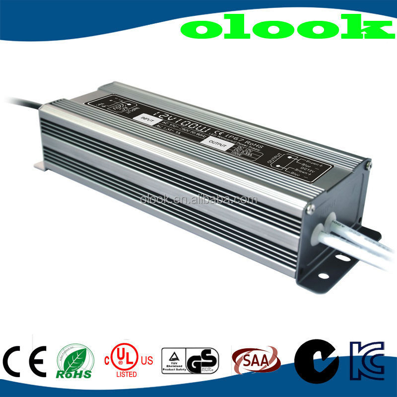 waterproof electronic led driver 12v 100w with CE ROHS UL approval
