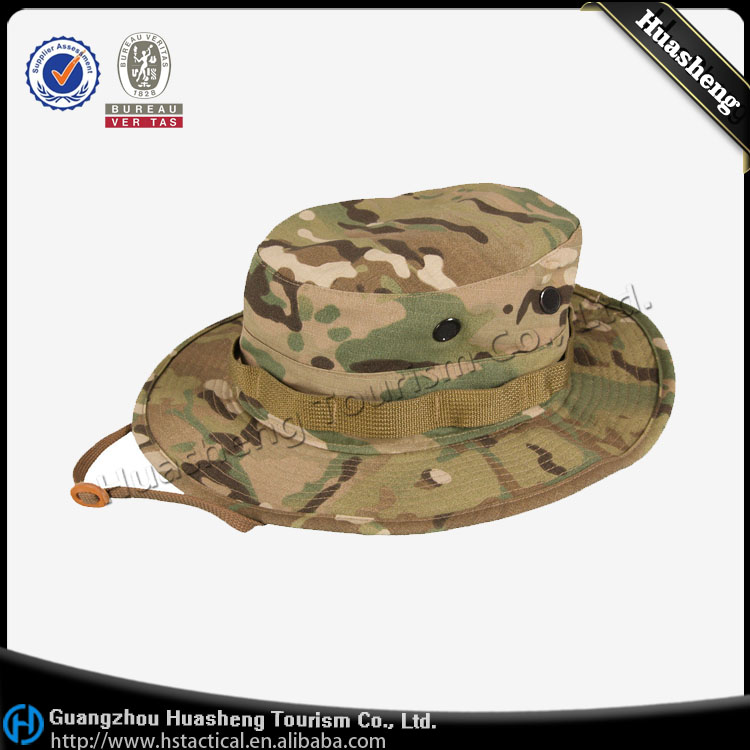 Hiking Fishing Waterproof Multicam Bonnie Cap Hat