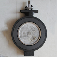 PN40 High Performance grooved end butterfly valve with manual handle