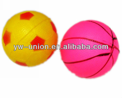 10cm 12cm 14cm PVC Ordinary Rubber Inflatable Ball Toy