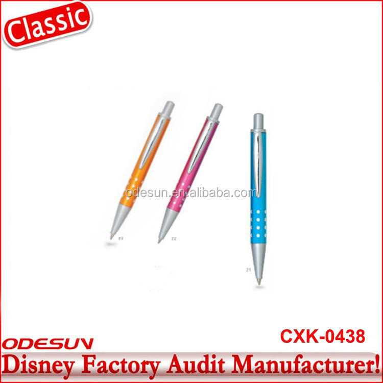 Disney Universal NBCU FAMA BSCI GSV Carrefour Factory Audit Manufacturer Promotional Gift 6 Color Ballpoint Pen With Logo