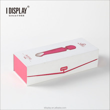 Flip Open Paper Gift Package With EVA Insert, Spot UV Coating Sexy Toy Packing Box/