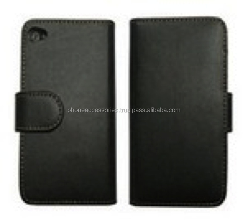 Flip book en elegante te negro funda de piel para iphone 6 cable, Iphone 5 y el iphone 4 y para samsung s5 y note 3