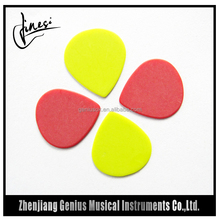 Specialized Factory Thin Medium and Heavy Gauge Black Celluloid Guitar Pick