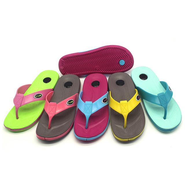 2015 fashionable Eva Slipper Korea style hot sale Lady Flip Flops slippers