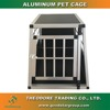 Dog Crates For Small Dogs Heavy Duty Aluminum Kennel Car Travel Cage Metal House
