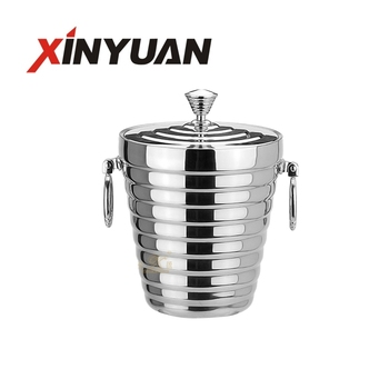 stainless steel champagne ice bucket FT-02606