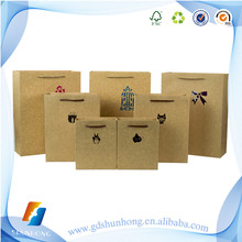 Top quality mini brown paper bags with handles company