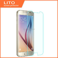 0.3mm rounded edge tempered glass screen protector for Samsung galaxy S6