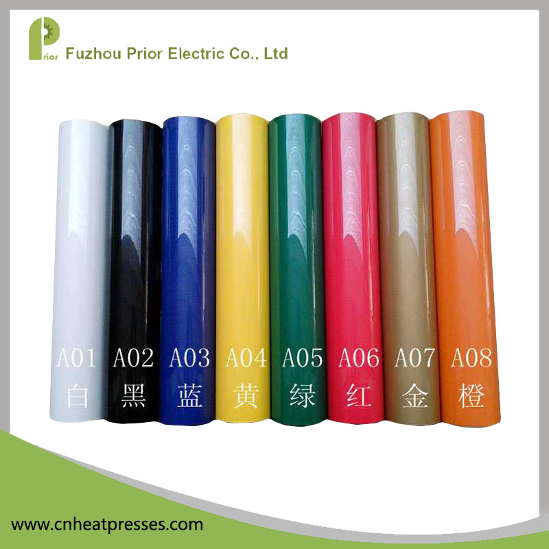 Prior Hot Sale Low Price For Vinyl Cutter Multicolor Heat Transfer Vinyl Film