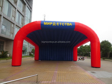 6 legs customized inflatable air tent for sale