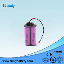 11.1v 12v 10.8v 18650 li-ion battery pack 3s1p 2600mah for samsung cell