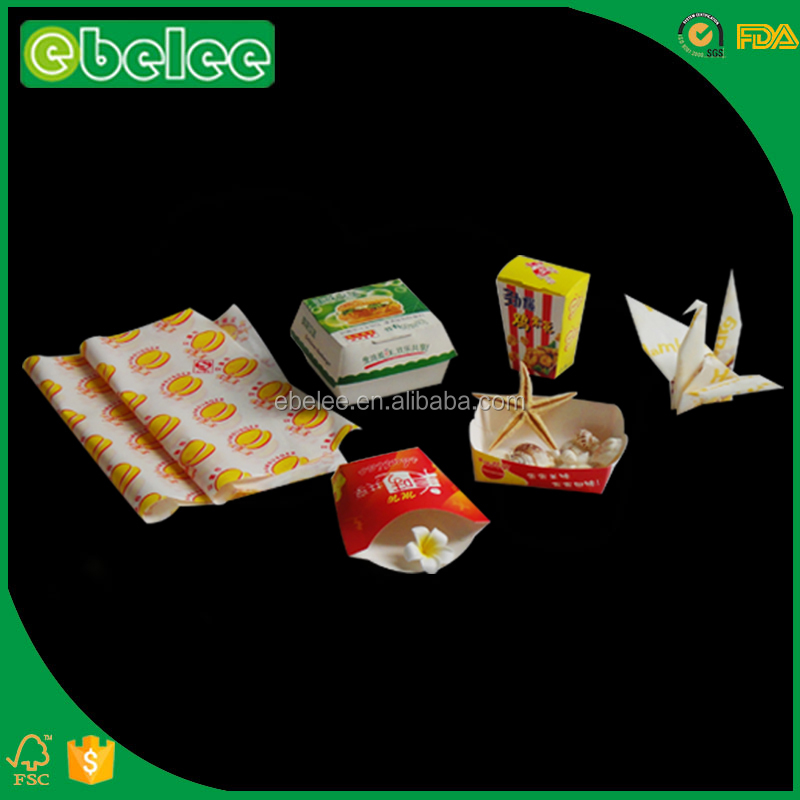 EBELEE customized fast food paper food packaging