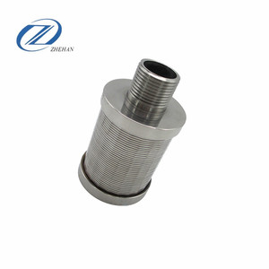 factory price stainless steel filter nozzle for backwash retention