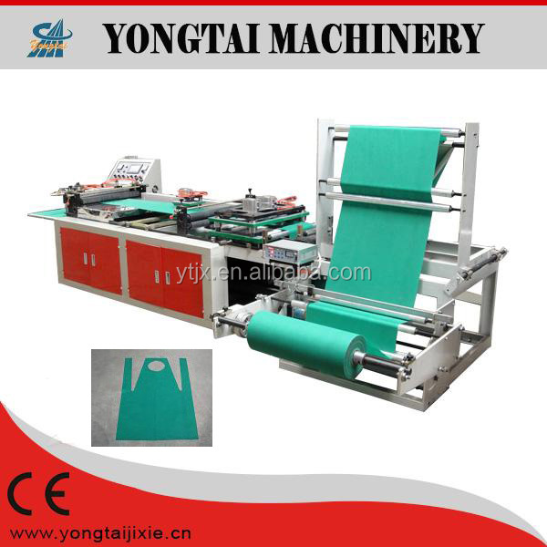 hygiene products non woven/pp apron cutting equipment