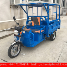 chinese KAVAKI motorcycle brands super power 1000W/1200W cargo tricycle with cabin