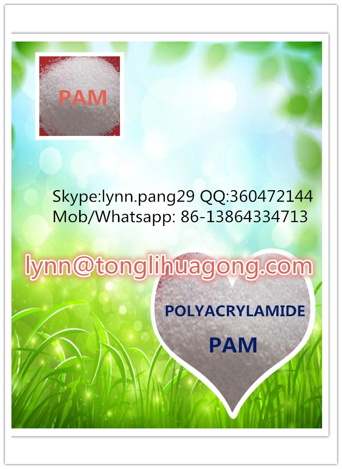 soil stabilization and road building process anionic polyacrylamide PAM