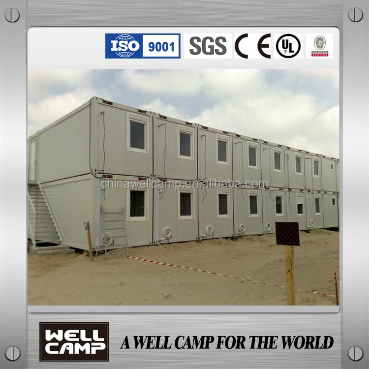 Two floor Luxury Folding Container Houses for labor dormitory