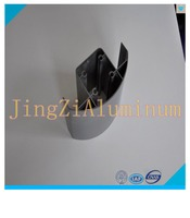 Customized anodized finish industrial aluminum profile