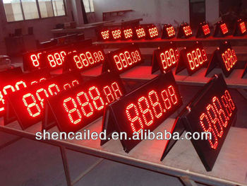 8 inch outdoor gas station led display board price