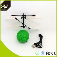 Mini Qute RC remote control flying ball helicopter