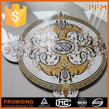 marble medallion for home hotel decoration marble mosaic floor medallion water jet marble medallion