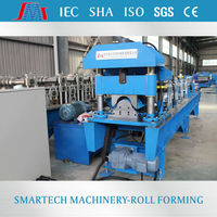 Simply building roofing ridge machine decorative & Insulation roofing ridge roll forming machine