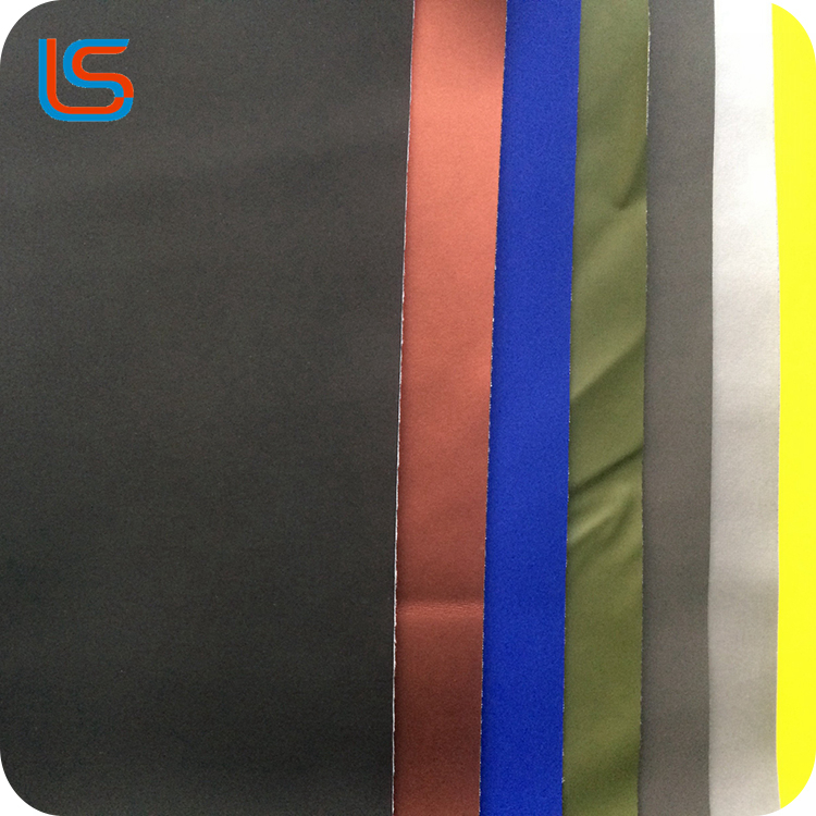 2016 Frosted Semi PU leather for local motobike cover