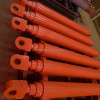 telescopic hydraulic cylinder for fire fighting truck S37