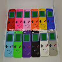 For iPhone 5C case, New Arrival Game Player Silicon Case