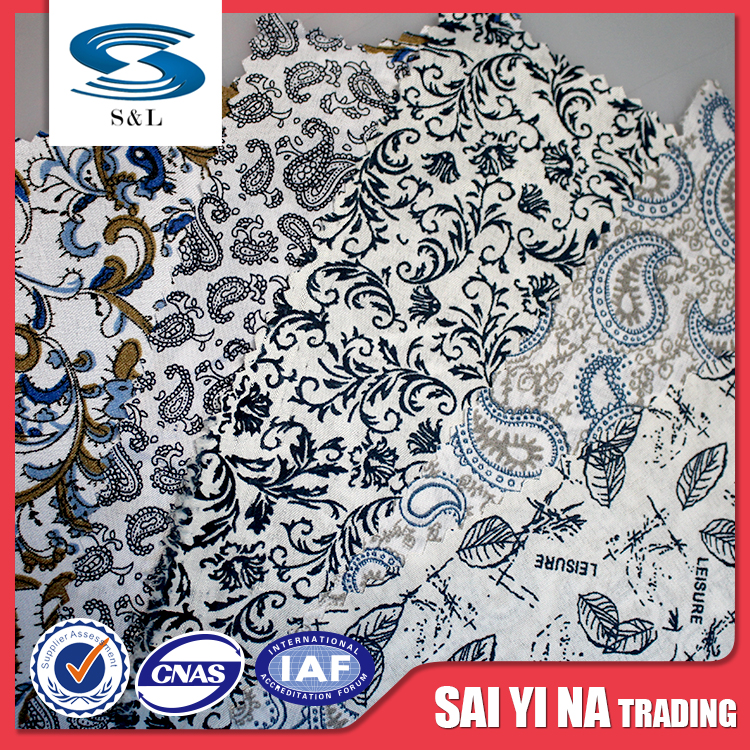 Printed Fabric Polyester, Casual Digital Print Polyester, Cheap Digital Printed Polyester Fabric