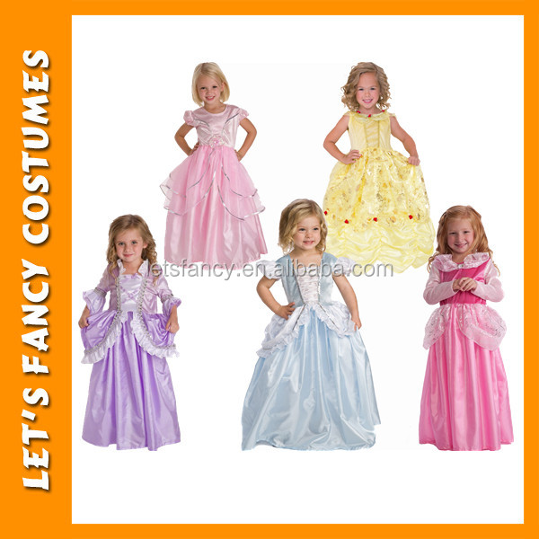 PGCC1989 2017 hot selling kids girl birthday party baby girl princess dresses flower girl dresses