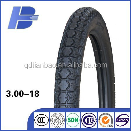 motorcycle parts factory in china with cheap price tire 300x18 300-18 300/18