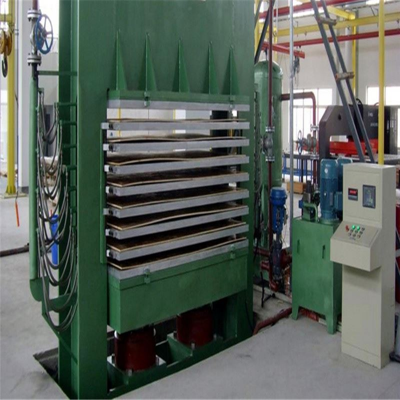 Wood bending hot press machine/ plywood making machine