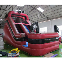 Custom theme slide, durable inflatable pirate slide PVC slide for hire business