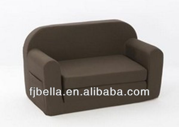 Foam Flip Sofa Fun Furnishings Toddler Dark