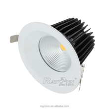 Round 20W COB LED ceiling light indoor rotatable ceiling fixture Surface mounted recessed LED down light for restaurant