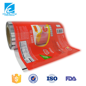 Foil Plastic Lamination Film For Food Grade Heat Packaging