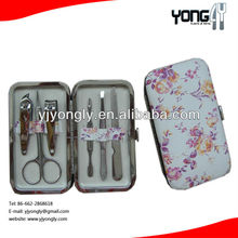 Stainless Steel Personal Manicure Set & Pedicure Set, Travel & Grooming Kit with Free Delicate Case