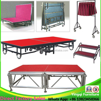 Used Portable Aluminum Moving Stage for Sale
