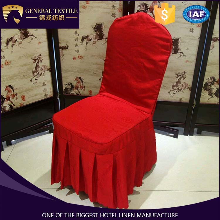 2016 popular wedding decotation luxury chair cover wedding banquet home hotel chair cover