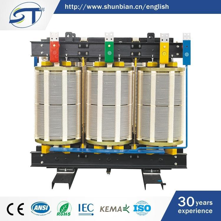 Classical Style Electrical Equipment 3 Phase Dry Type Rectifier Transformer
