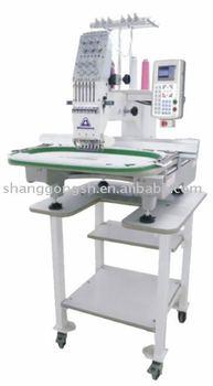 six needle embroidery machine