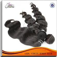 Hair Extension Type And Remy Hair Grade 100% Natural Indian Human Hair