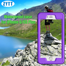 Waterproof Case for iphone6plus, Merit Underwater Dust-Proof, Snow-Proof, Shock-proof, Waterproof Case for iphone 6s plus