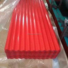 Supply lowest price corrugated metal roof with good price