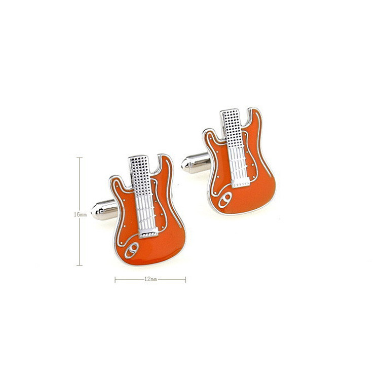 Wholesale fine workmanship Music Lover's Guitar Cuff Links